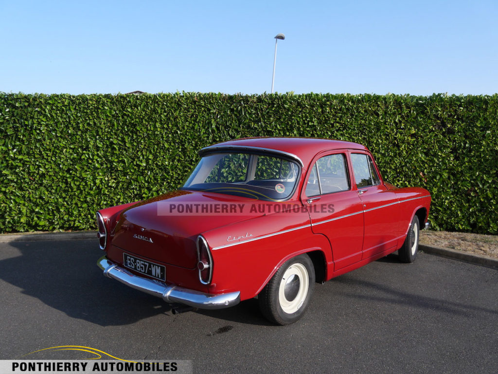 Restauration Simca Aronde
