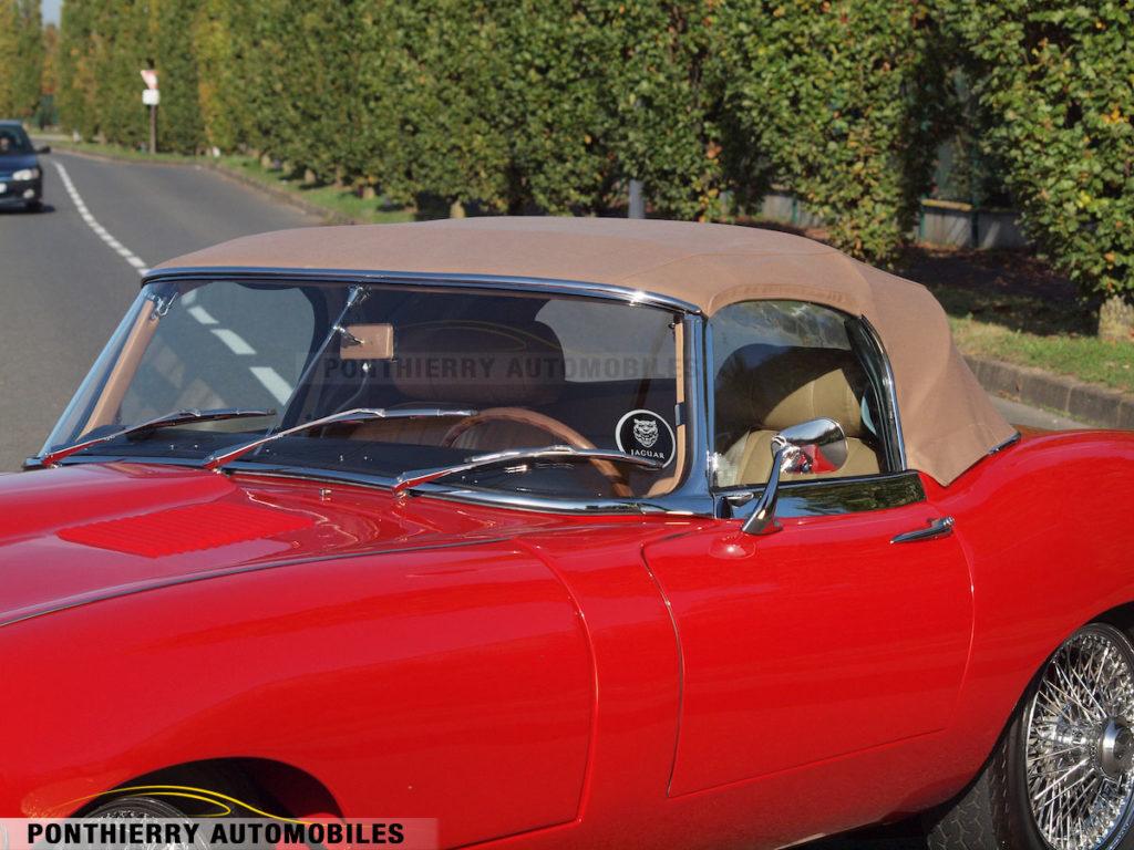 Restauration Jaguar Type E