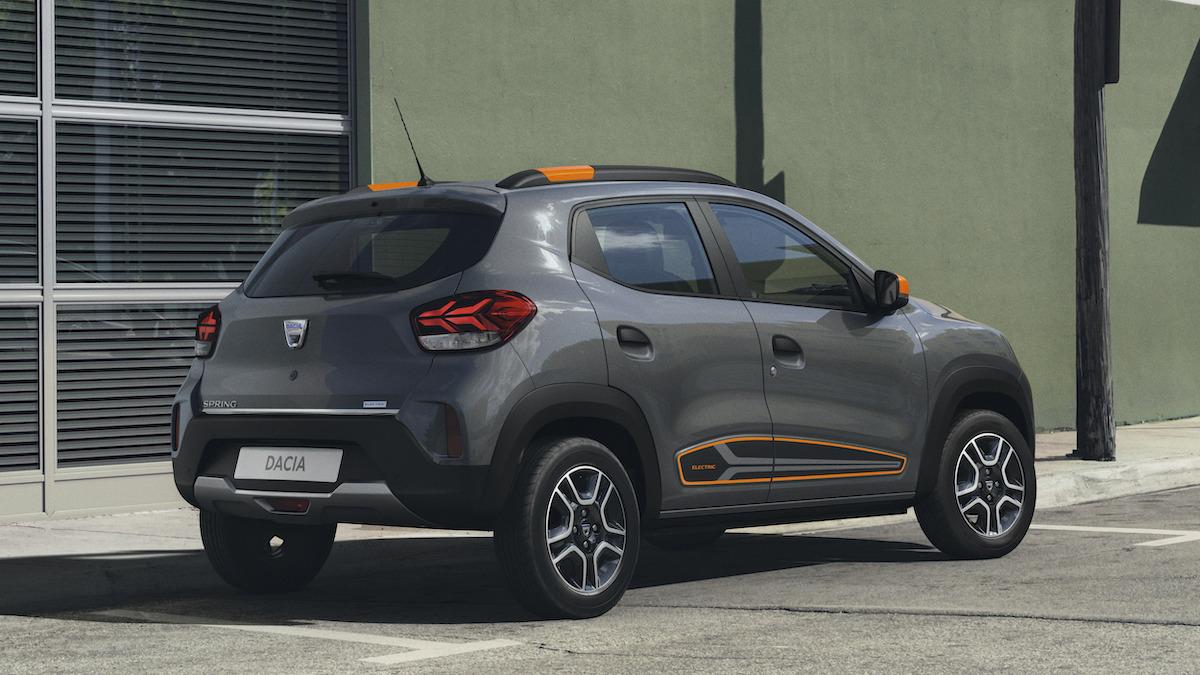 Spring Dacia Electric Automobile